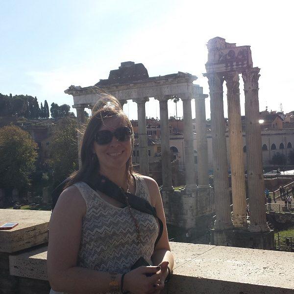 Roman Forum Me